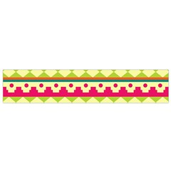 Tribal Pattern Background Flano Scarf (small)