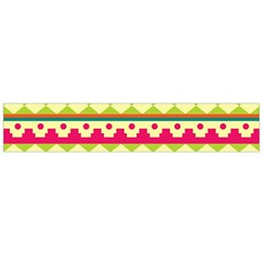 Tribal Pattern Background Flano Scarf (large)