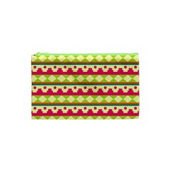 Tribal Pattern Background Cosmetic Bag (xs)