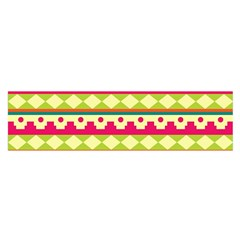 Tribal Pattern Background Satin Scarf (Oblong)