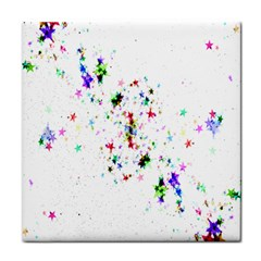 Star Structure Many Repetition Tile Coasters