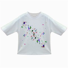 Star Structure Many Repetition Infant/toddler T Shirts