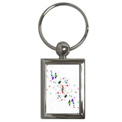 Star Structure Many Repetition Key Chains (rectangle)