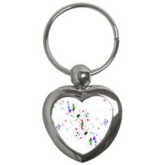 Star Structure Many Repetition Key Chains (heart)