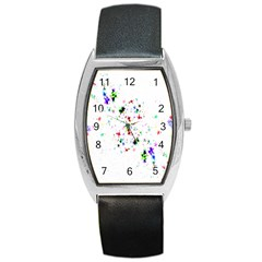 Star Structure Many Repetition Barrel Style Metal Watch