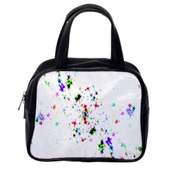 Star Structure Many Repetition Classic Handbags (one Side)