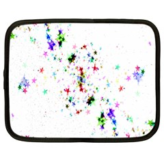 Star Structure Many Repetition Netbook Case (xl)