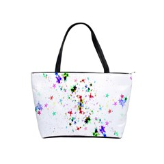 Star Structure Many Repetition Shoulder Handbags