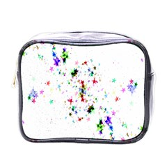 Star Structure Many Repetition Mini Toiletries Bags