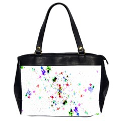Star Structure Many Repetition Office Handbags (2 Sides)