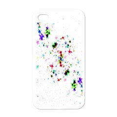 Star Structure Many Repetition Apple Iphone 4 Case (white)