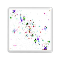 Star Structure Many Repetition Memory Card Reader (square)