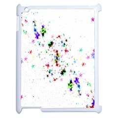 Star Structure Many Repetition Apple Ipad 2 Case (white)