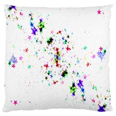 Star Structure Many Repetition Large Cushion Case (two Sides)