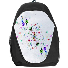 Star Structure Many Repetition Backpack Bag