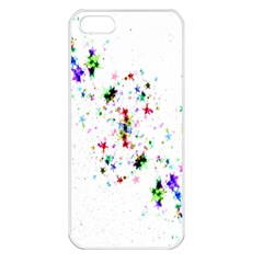 Star Structure Many Repetition Apple Iphone 5 Seamless Case (white)
