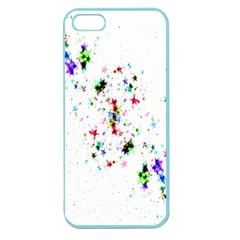 Star Structure Many Repetition Apple Seamless Iphone 5 Case (color)