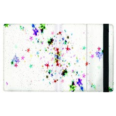 Star Structure Many Repetition Apple Ipad 2 Flip Case