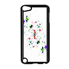 Star Structure Many Repetition Apple Ipod Touch 5 Case (black)