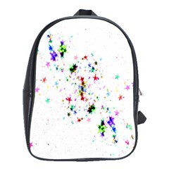 Star Structure Many Repetition School Bags (xl)