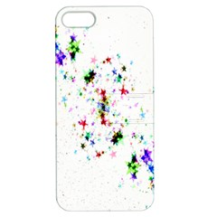 Star Structure Many Repetition Apple Iphone 5 Hardshell Case With Stand