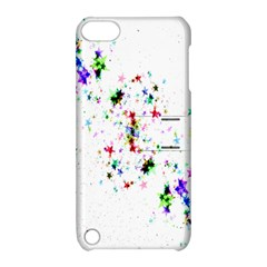 Star Structure Many Repetition Apple Ipod Touch 5 Hardshell Case With Stand