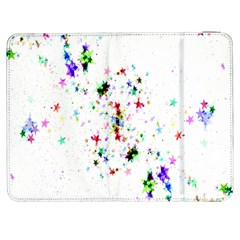 Star Structure Many Repetition Samsung Galaxy Tab 7  P1000 Flip Case