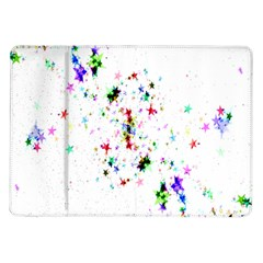 Star Structure Many Repetition Samsung Galaxy Tab 10 1  P7500 Flip Case