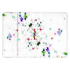 Star Structure Many Repetition Samsung Galaxy Tab 8 9  P7300 Flip Case