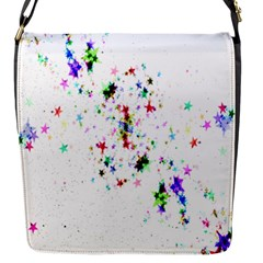 Star Structure Many Repetition Flap Messenger Bag (s)