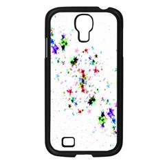 Star Structure Many Repetition Samsung Galaxy S4 I9500/ I9505 Case (black)
