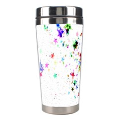 Star Structure Many Repetition Stainless Steel Travel Tumblers