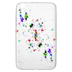 Star Structure Many Repetition Samsung Galaxy Tab 3 (8 ) T3100 Hardshell Case