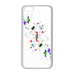 Star Structure Many Repetition Apple Iphone 5c Seamless Case (white)
