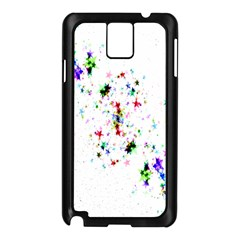 Star Structure Many Repetition Samsung Galaxy Note 3 N9005 Case (black)