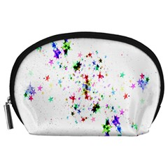 Star Structure Many Repetition Accessory Pouches (large)