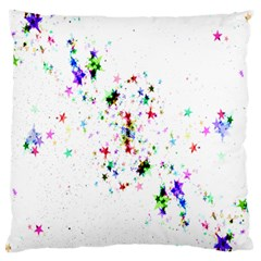 Star Structure Many Repetition Standard Flano Cushion Case (one Side)