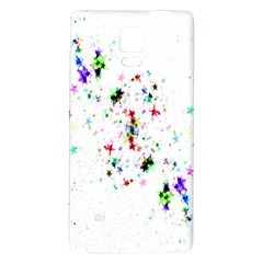 Star Structure Many Repetition Galaxy Note 4 Back Case