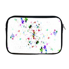 Star Structure Many Repetition Apple Macbook Pro 17  Zipper Case