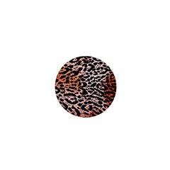 Tiger Motif Animal 1  Mini Buttons