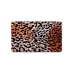 Tiger Motif Animal Magnet (name Card)