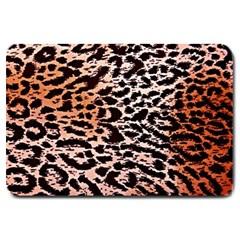 Tiger Motif Animal Large Doormat