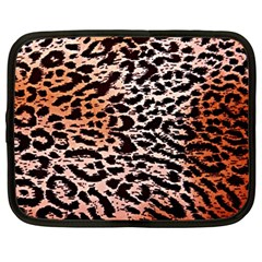 Tiger Motif Animal Netbook Case (large)