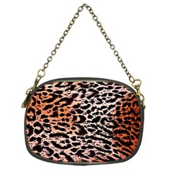 Tiger Motif Animal Chain Purses (Two Sides)