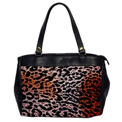 Tiger Motif Animal Office Handbags