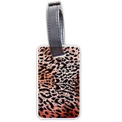 Tiger Motif Animal Luggage Tags (one Side)