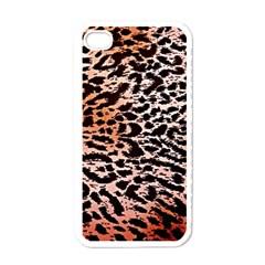 Tiger Motif Animal Apple Iphone 4 Case (white)