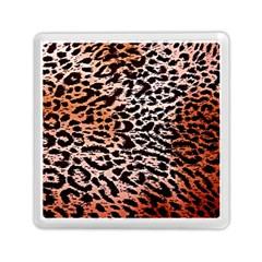 Tiger Motif Animal Memory Card Reader (Square)