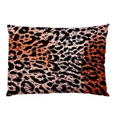 Tiger Motif Animal Pillow Case (two Sides)