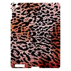 Tiger Motif Animal Apple Ipad 3/4 Hardshell Case